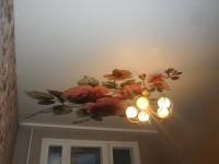 Натяжной потолок матовый с нанесенным изображением, фото 95