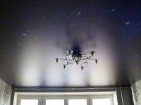 Натяжной потолок сатиновый с изображением звездное небо, фото 96