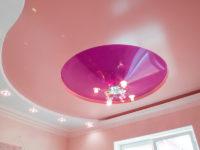 Трехуровневый потолок в гостиной, фото 124