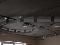 Потолочный профиль на основном потолке и по периметру помещения, фото 1