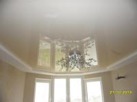 Натяжной потолок многоуровневый, белый матовый и глянцевый, фото 12