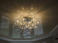 Натяжной потолок многоуровневый, белый матовый и глянцевый, фото 11