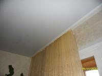 Натяжной потолок сатиновый белый, фото 6