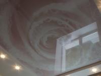 Натяжной потолок глянцевый с нанесенным изображением, фото 74