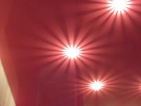 Натяжной потолок глянцевый красно-фиолетовый, фото 33